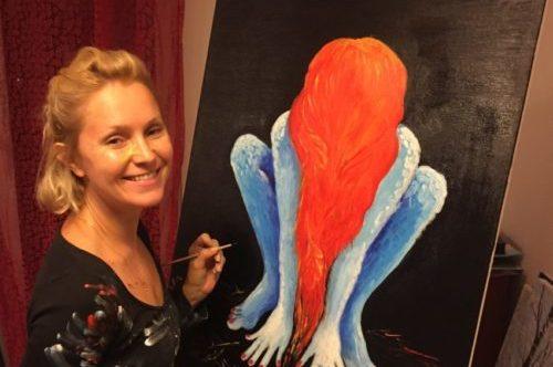 Eliza Różowicz - maluje obrazy olejne