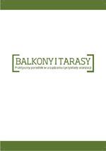 Okładka książki - Balkony i Tarasy.